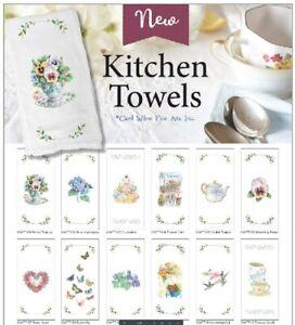 Carol Wilson Fine Arts E1 Flour Sack Hand Cotton Tea Towel 16x24in Choose Design