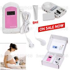 Fetal Heart Rate Doppler  Ultrasonic Doppler prenatal monitor,free gel