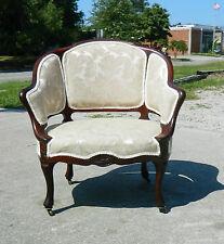 Mahogany Upholstered Side Bedroom Chair circa1890