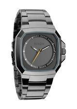 AUTHENTIC NIXON DECK ALL GUNMETAL WATCH A308 632 A308632 NEW IN BOX!