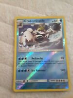 Crabominable 43/149 SM Base Set Reverse Holo Rare Near Mint Or Better
