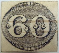 Brazil, 1843, Bull's Eye, 60, cancelled