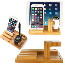 Mobile Phone Porous Charging Wooden Support  Apple Watch/iwatch Charging Base