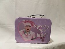 """""""I LOVE LUCY"""" SPEED IT UP A LITTLE 2009 METAL LUNCH BOX"""