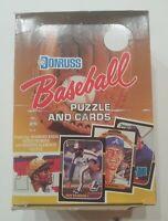 1987 Donruss wax box - 36 unopened packs - Possible Barry Bonds, Mark McGwire RC