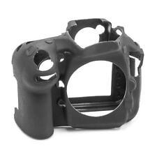 Hülle Case Schutzhülle Silikon schwarz für Nikon D810