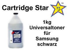 1kg 1000g Universal Refill Toner für Samsung Schwarzlaser Kartuschen