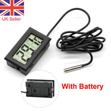 LCD Digital Fridge Thermometer for Refrigerator Freezer -50°C- 110°C UK