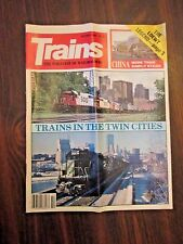 Trains The Magazine of Railroading October 1986 Trains in the Twin Cities