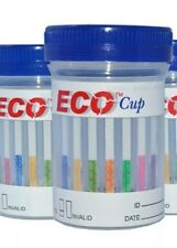 6 Panel ECO Cup Multi Screen Drug Test- 5 Tests BZO/COC/MAMP/AMP/THC/OPI + AD