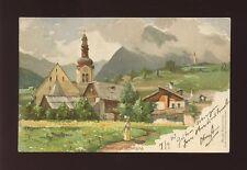 Germany Pfarrkirche in STERZING artist P Schmahl Used 1903 u/b PPC
