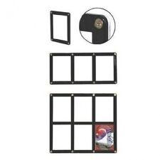Ultra Pro 9-card Black Border Rigid Screwdowns - NBA Card Holder Display