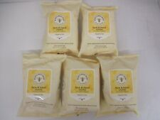 150 BURT'S BEES BABY FACE AND HAND CLOTHS WITH ALOE - EXP: 12/20 - JK 1144