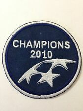 Champion League 2010 Patch Toppa Ricamata Termoadesiva