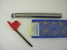 Bohrstange S12K SDUCR 07  inclusive 10 Platten DCMT 07 02 04 für Stahl