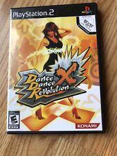 Dance Dance Revolution X (Sony PlayStation 2, 2008) PS2 Cib H2