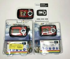 Polaroid iXX090 Dual Screen Shock & Waterproof Digital Camera 20MP Lot of 3