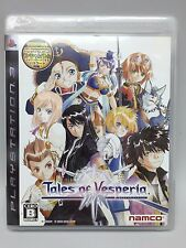 USED PS3 Tales of Vesperia namco Free Shipping Japan Import Games PlayStation 3