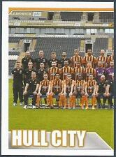 TOPPS 2014/15 PREMIER LEAGUE #148-HULL CITY TEAM PHOTO-LEFT HALF
