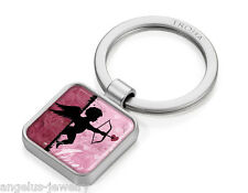 "Troika, "" App Keyring My Amor "", Keychain in app-design with Decor, Metal"