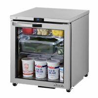 True TUC-27G-ADA-HC~SPEC3 Reach-In Undercounter Refrigerator