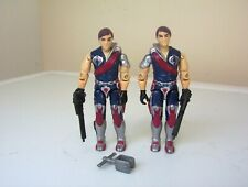 vintage Action Force/G.I.JOE COBRA TOMAX & XAMOT figures complete.