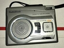 Radio Shack Cassette Tape Recorder Vox Ctr 122