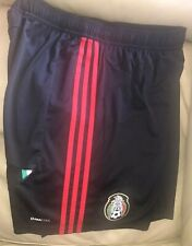 Adidas Soccer Mexico FMF Black Red Shorts, Size XL, New 100% Authentic