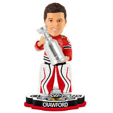 Chicago Blackhawks Corey Crawford Stanley Cup Champion BobbleHead 2015