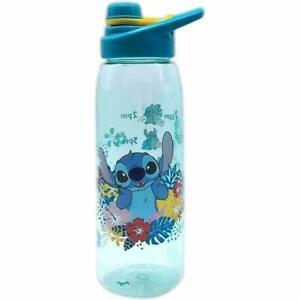 Disney Lilo & Stitch Tropical 28oz Plastic Water Bottle NEW