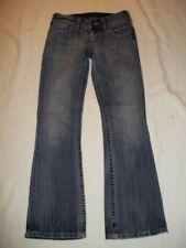 Womens Silver Jeans Size 27 x 32 SUKI Boot Cut Stretch