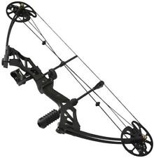 30-75 lbs Pro Black Archery RTH Compound Bow Hunting Right Hand Bow Kit 16-32''