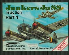 Squadron/Signal Publications Aircraft in Action: Junkers Ju88 Pt. 1 No.85