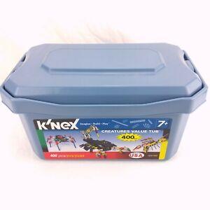 K'nex Storage Bin - Slate Blue - 2005
