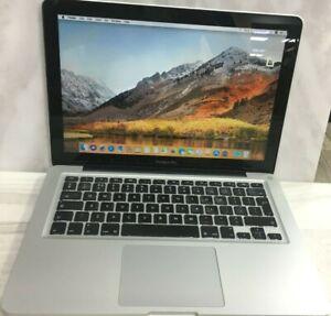 """Apple Macbook Pro 13"""" A1278 (2011) Core i5 2.4 Ghz 4 GB Ram 256 GB SSD Warranty"""
