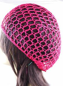 1 Piece Thick Hair Net French Mesh Fish Net Hairnet & Snood One Size All Colors