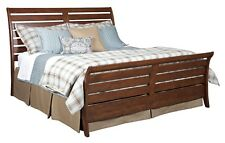 ad1891cab41a06 Kincaid Homecoming Vintage Cherry Cumberland Rustic King Sleigh Bed 38-150