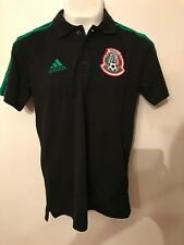 Polo negra  2018 Adidas Original Mexico Seleccion