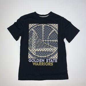 Golden State Warriors T-Shirt Size Adult Medium Black NBA Basketball
