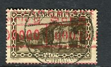 GERMANY SAAR;  1927 early Pictorial issue fine used 40c. value fine Postmark