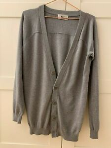 From TK Maxx brand BZR grey men's cardigan with buttons size S