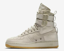 2017 Nike Air Force 1 SF AF1 SZ 10.5 String Tan Special Field Gum LTD 864024-200