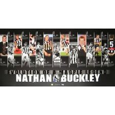 NATHAN BUCKLEY COLLINGWOOD MAGPIES EVOLUTION OF A LEGEND CAREER PRINT LIMITED