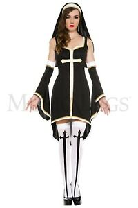 Music Legs Women's Halloween Sinfully Hot Nun Costume 70569 Party Clothing