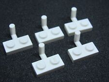 LEGO 4623 @@ Plate, Modified 1 x 2 Arm Up - White x 5 - 6087 6464 6520 6545