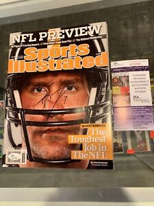2009 BEN ROETHLISBERGER STEELERS SIGNED SPORTS ILLUSTRATED TOUGHEST JSA AUTH