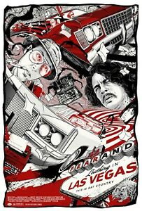Fear & Loathing in Las Vegas Steadman Alt Movie Poster Cesar Moreno /87 NT Mondo
