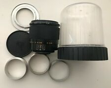 INDUSTAR-61L/Z f2.8/50mm lens M42 Zenit, Sony + case, cap, adapter, extens tubes