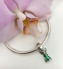 Pandora Disney Love Tinker Bell's Dress Charm Bead, Original, New, #792138EN93