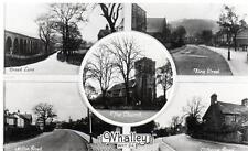 Whalley Multi View unused RP old postcard